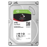 "Seagate® IronWolf SATA 6 Gbps 3.5"" Internal Hard Drive, 3TB (ST3000VN007)"