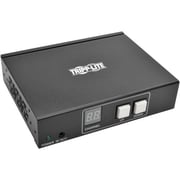 Tripp Lite B160-001-HDSI Wall/Rack/Pole Mountable HDMI/DVI Audio/Video Transmitter/Extender, Black