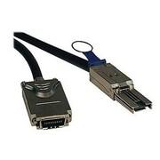 Tripp Lite 9.8' SFF-8088 to SFF-8470 Male/Male External SAS Cable, Black (S520-03M)