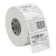 "Zebra® Z-Select 4000T Series Thermal Transfer Label for 105SL Printer, 3 1/4"" x 2"", Bright White, 6/Roll (72974)"