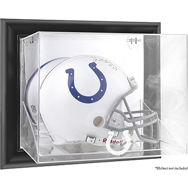 Mounted Memories NFL Wall Mounted Helmet Logo Display Case; Indianapolis Colts