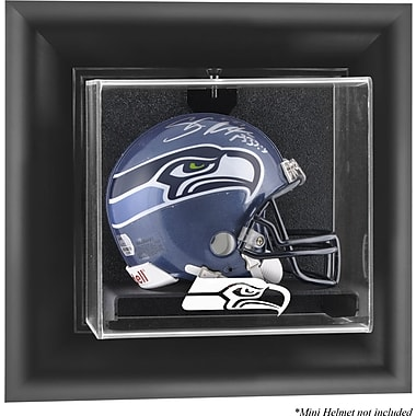 Mounted Memories NFL Wall Mounted Mini Helmet Logo Display Case; Seattle Seahawks