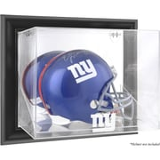 Mounted Memories NFL Wall Mounted Helmet Logo Display Case; New York Giants