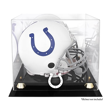 Mounted Memories NFL Classic Helmet Logo Display Case; Indianapolis Colts