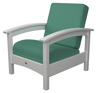 Trex Rockport Club Chair; Classic White / Spa