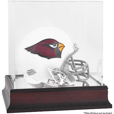 Mounted Memories NFL Logo Mini Helmet Display Case; Arizona Cardinals