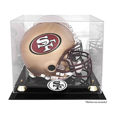 Mounted Memories NFL Classic Helmet Logo Display Case; San Francisco 49ers