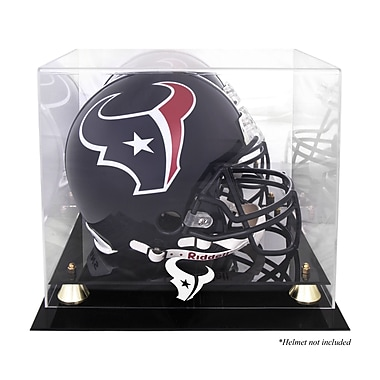 Mounted Memories NFL Classic Helmet Logo Display Case; Houston Texans
