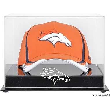 Mounted Memories NFL Acrylic Cap Logo Display Case; Denver Broncos