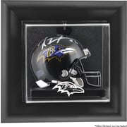Mounted Memories NFL Wall Mounted Mini Helmet Logo Display Case; Baltimore Ravens