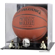 Mounted Memories NBA Golden Classic Logo Basketball Display Case; Golden State Warriors