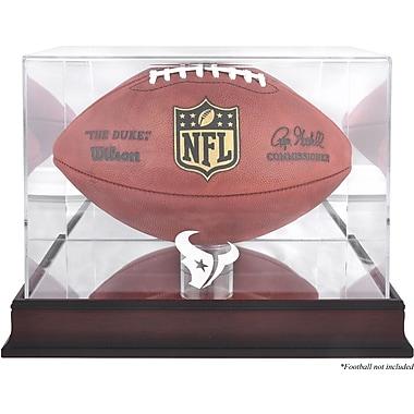 Mounted Memories NFL Football Logo Display Case; Houston Texans