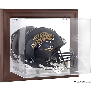 Mounted Memories NFL Wall Mounted Logo Helmet Case; Jacksonville Jaguars