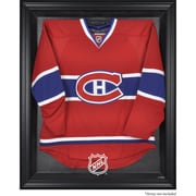 Mounted Memories NHL Display Case; Black