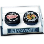 Mounted Memories NHL Double Hockey Puck Display Case