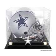 Mounted Memories NFL Classic Helmet Logo Display Case; Dallas Cowboys