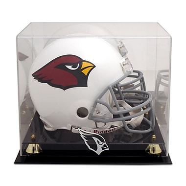 Mounted Memories NFL Classic Helmet Logo Display Case; Arizona Cardinals