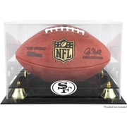 Mounted Memories NFL Classic Football Logo Display Case; San Francisco 49ers