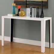 Hokku Designs Zedd Console Table; White