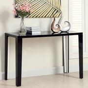 Hokku Designs Zedd Console Table; Black