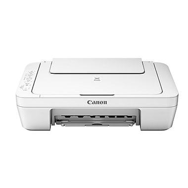 Canon - Imprimante jet d'encre PIXMA MG3020, blanc
