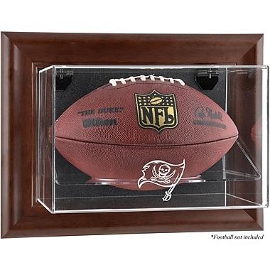 Mounted Memories NFL Wall Mounted Logo Football Case; Tampa Bay Buccaneers