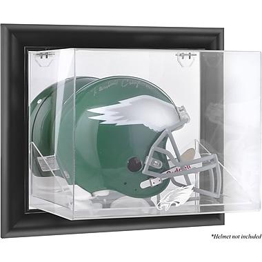 Mounted Memories NFL Wall Mounted Helmet Logo Display Case; Philadelphia Eagles