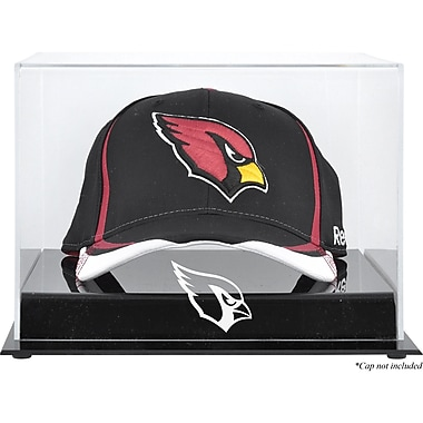 Mounted Memories NFL Acrylic Cap Logo Display Case; Arizona Cardinals