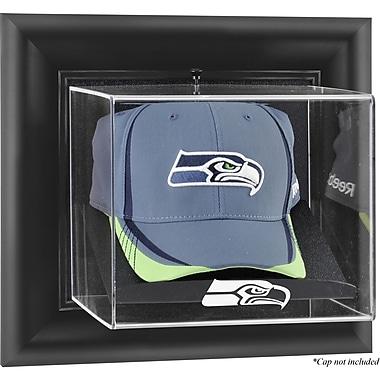Mounted Memories NFL Wall Mounted Cap Logo Display Case; Seattle Seahawks