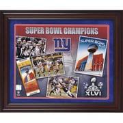 Mounted Memories NFL New York Giants Super Bowl XLVI Champions Framed Memorabilia