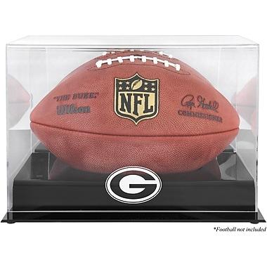 Mounted Memories NFL Football Logo Display Case; Green Bay Packers