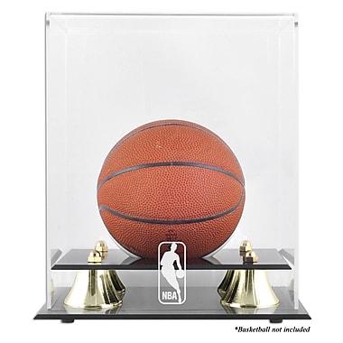 Mounted Memories NBA Golden Classic Logo Mini Basketball Display Case; NBA