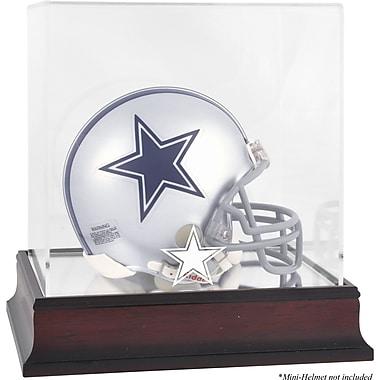 Mounted Memories NFL Logo Mini Helmet Display Case; Dallas Cowboys