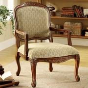 Hokku Designs Atlantic Hand-Carved Fabric Armchair