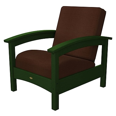 Trex Rockport Club Chair; Rainforest Canopy / Chili