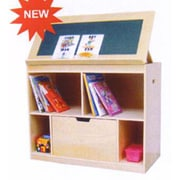 A+ Child Supply Movable 4 Compartment Book Display
