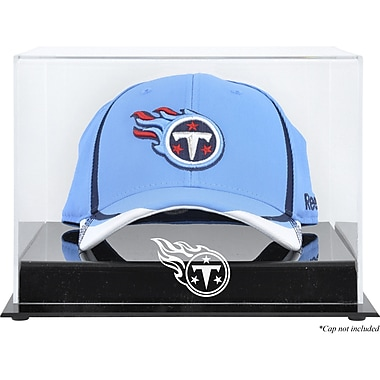Mounted Memories NFL Acrylic Cap Logo Display Case; Tennessee Titans