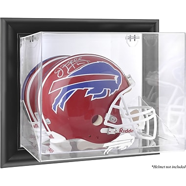 Mounted Memories NFL Wall Mounted Helmet Logo Display Case; Buffalo Bills