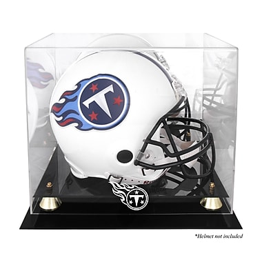 Mounted Memories NFL Classic Helmet Logo Display Case; Tennessee Titans