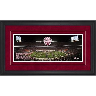 Mounted Memories Alabama Crimson Tide 2012 BCS National Champions Gameday Framed Memorabilia
