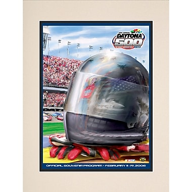 Mounted Memories NASCAR Daytona 500 Program Vintage Advertisement; 48th Annual - 2006