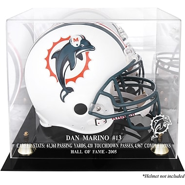 Mounted Memories NFL Hall of Fame Classic Helmet Display Case; Dan Marino Hall of Fame 2005
