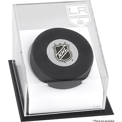 Mounted Memories Hockey Puck Logo Display Case; Los Angeles Kings WYF078275725695