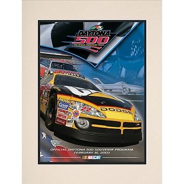 Mounted Memories NASCAR Daytona 500 Program Vintage Advertisement; 45th Annual - 2003