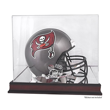 Mounted Memories NFL Helmet Logo Display Case; Tampa Bay Buccaneers