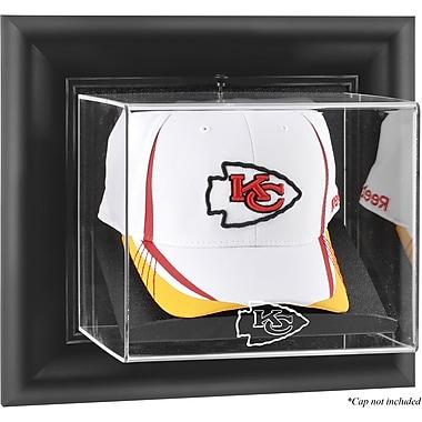 Mounted Memories NFL Wall Mounted Cap Logo Display Case; Kansas City Chiefs