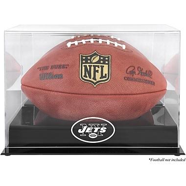 Mounted Memories NFL Football Logo Display Case; New York Jets