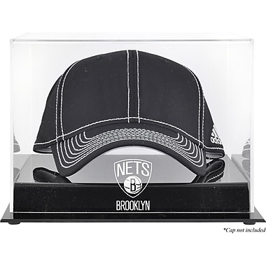 Mounted Memories NBA Logo Cap Display Case; Brooklyn Nets