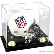 Mounted Memories NFL Classic Logo Mini Helmet Display Case; NFL All Teams