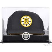 Mounted Memories Acrylic Cap Logo Display Case; Boston Bruins